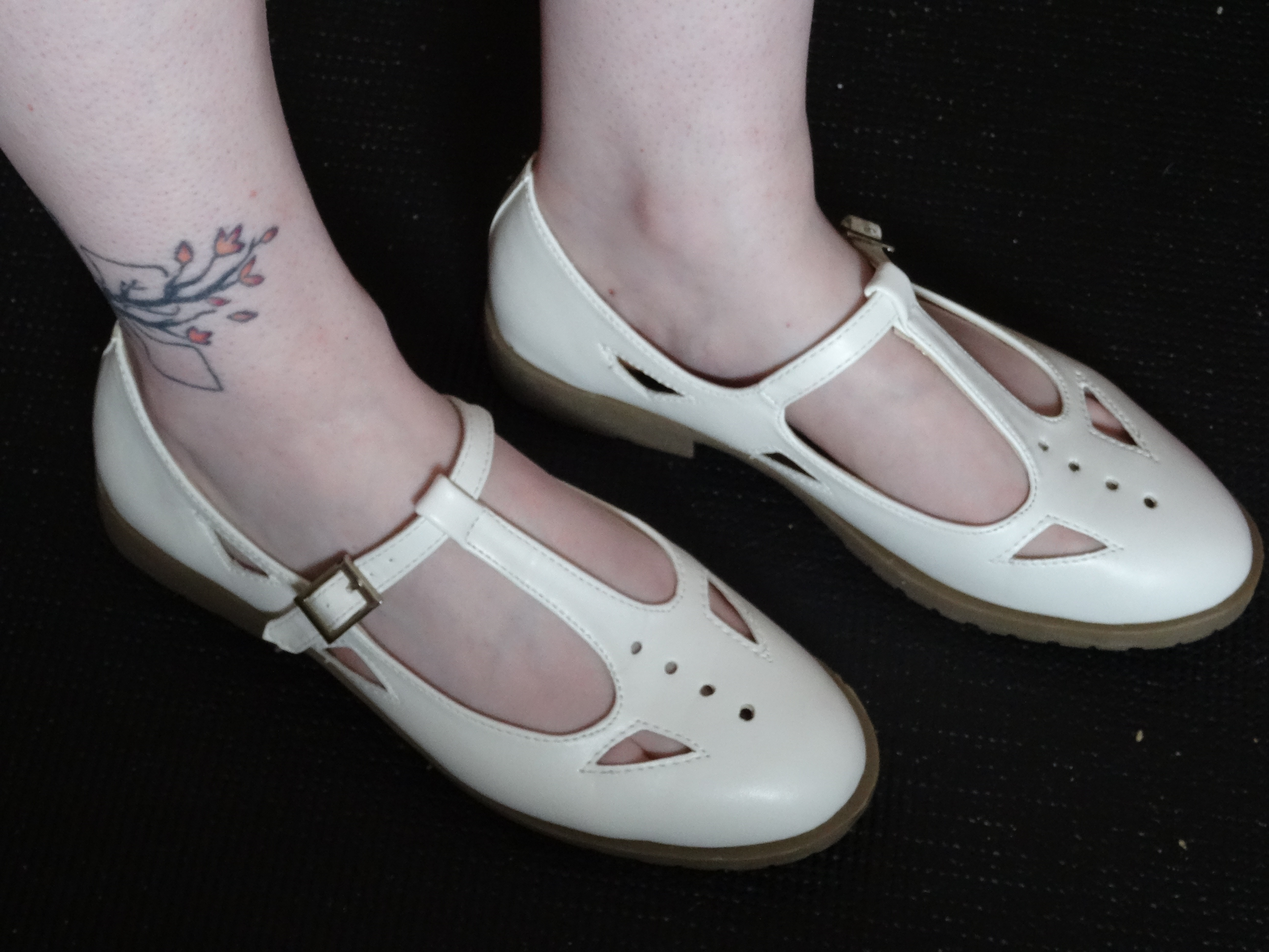 445745caf728 ASOS Molly T-Bar Flat Shoes Review - The Rambles of Nuggetstump